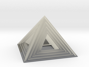 Pyramid in Transparent Acrylic