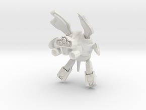Tristan V1 in White Natural Versatile Plastic