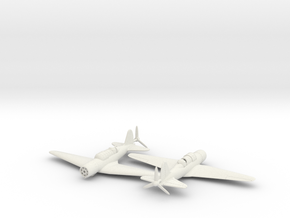 1/200 Sukhoi Su-2 in White Strong & Flexible