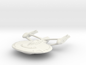 Walford Class Destroyer in White Natural Versatile Plastic