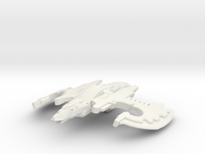 Crow Class Cruiser in White Natural Versatile Plastic