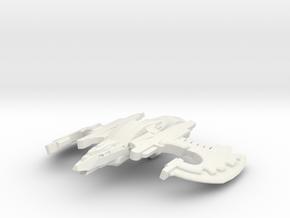 Crow Class Cruiser in White Natural Versatile Plastic