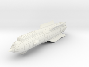 Terran Battle Rocket Acheron in White Natural Versatile Plastic