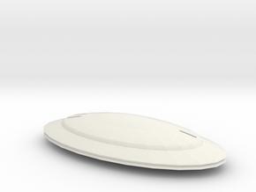 Galaxyclassyacht in White Natural Versatile Plastic