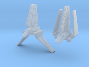 1/2256 Shuttle Tydirium  in Smooth Fine Detail Plastic