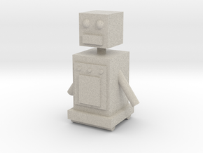 Upgraded Robot in Sandstone