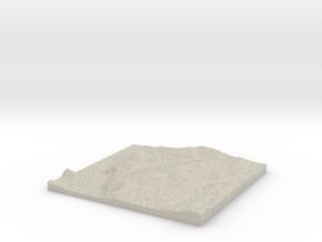 Model of Beacon in Natural Sandstone