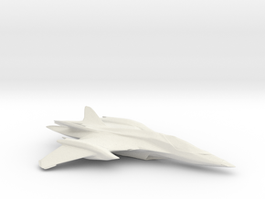New andromeda Fighter in White Natural Versatile Plastic