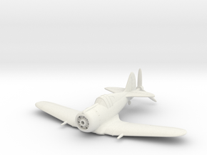 1/144 CAC Boomerang in White Natural Versatile Plastic