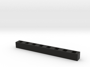 SMD LED Bar Graph in Black Natural Versatile Plastic
