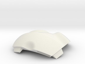 NSphere Palm (tile type:5) in White Natural Versatile Plastic