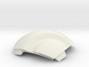 NSphere Mini (tile type:1) in White Natural Versatile Plastic