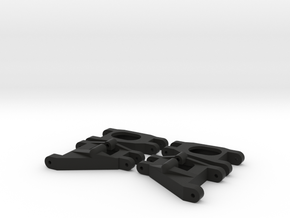 Wishbone Set 4 in Black Natural Versatile Plastic