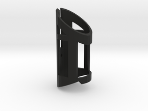 Windowed Shroud in Black Natural Versatile Plastic