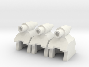 Sweepers in White Natural Versatile Plastic