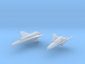 Fighters Bsg in Smooth Fine Detail Plastic