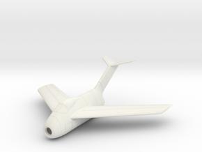 1/100 Focke-Wulf Ta-183 in White Natural Versatile Plastic