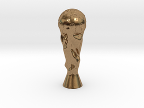 Fifa World Cup in Natural Brass