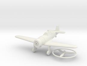 1/100 Fokker D.XXI (Finland) in White Natural Versatile Plastic