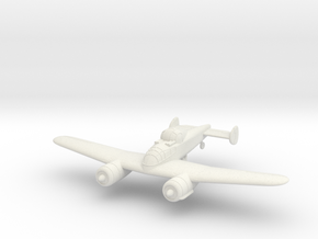 1/100 Bristol F.11/37 (wheels optional) in White Natural Versatile Plastic