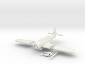 1/144 Vought SB2U Vindicator (folding wings) in White Strong & Flexible