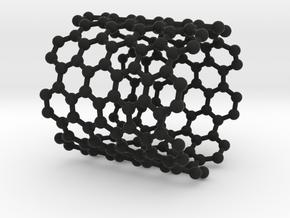 NanoTube Napkin Ring in Black Natural Versatile Plastic