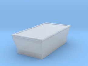HO-Scale Pool Table in Smooth Fine Detail Plastic