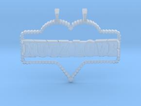 NuTz Love in Smooth Fine Detail Plastic