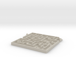 Toy Maze in Natural Sandstone
