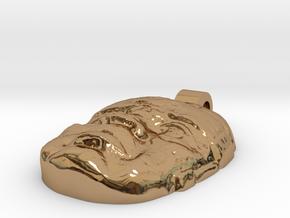 123DDesignDesktopSel in Polished Brass