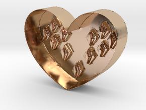 Heart in 14k Rose Gold
