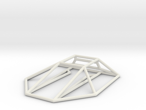 Constrictor Wireframe 1-300 in White Strong & Flexible