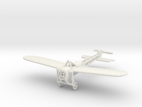 1/144 Bleriot XI in White Natural Versatile Plastic