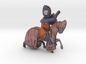 Archipelis Designer model in Full Color Sandstone