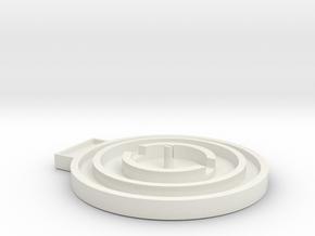 V9 Btm Rework in White Natural Versatile Plastic