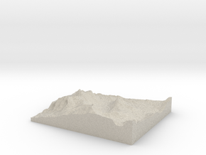Model of Kirkwood in Natural Sandstone