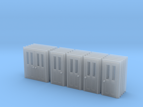 Door Type 6 And 7 - Bulk Pack - N in Smooth Fine Detail Plastic