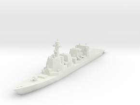 Akizuki 1:700 X1 in White Strong & Flexible