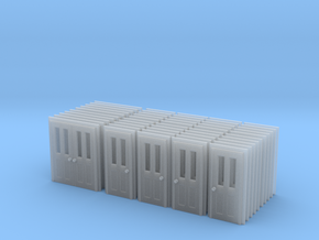 Door Type 5, 6 And 7 - Bulk Pack - N in Smooth Fine Detail Plastic