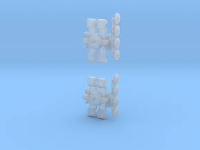 Drehgestell B3D und B4D 1:160 in Frosted Ultra Detail