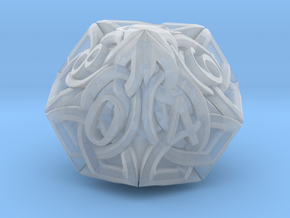 Celtic D10 - Solid Centre for Plastic in Smooth Fine Detail Plastic