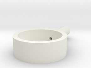 BMGimbal Inner Pan in White Natural Versatile Plastic