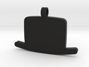 Heisenberg Pendant in Black Natural Versatile Plastic