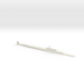 1/700 Borei Class Submarine (Waterline) in White Natural Versatile Plastic