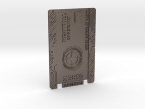 Star Citizen Card  - Metal Version - Personal in Stainless Steel