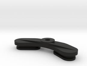 Cascade-battery-cover-1c in Black Natural Versatile Plastic