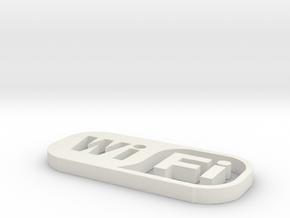 Wifi in White Natural Versatile Plastic