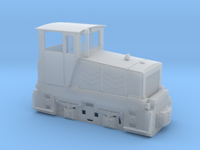 Tschechische Feldbahnlok Poldi DH120 Spur 1f 1:32 in Frosted Ultra Detail