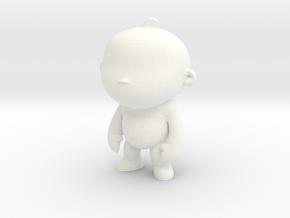 Toy V11 in White Processed Versatile Plastic