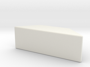 Card Holder 02 in White Natural Versatile Plastic
